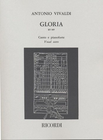 Gloria: Rv589: Vocal Score (Malipiero) (Ricordi)