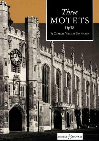 3 Motets Op38: Vocal Score