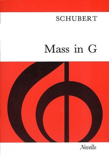 Mass In G: Vocal Score (Novello)