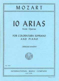 10 Arias: Soprano: Vocal & Piano (International)