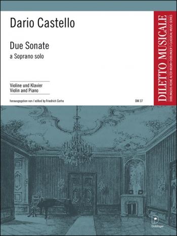 Due Sonate A Soprano Solo In A Und D  Violin & Piano