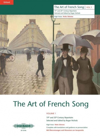 Art Of French Song: 1: High Voice
