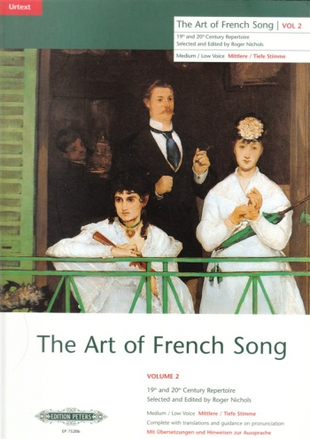 Art Of French Song: 2: High Voice