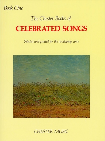 Chester Books Of Celebrated Songs: Book 1: Voice & Piano
