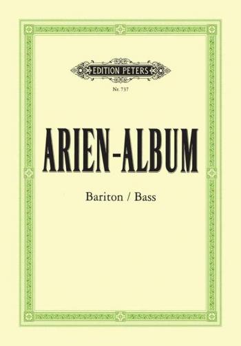 Aria Album for Baritone: 54 Arias for Baritone & Bass