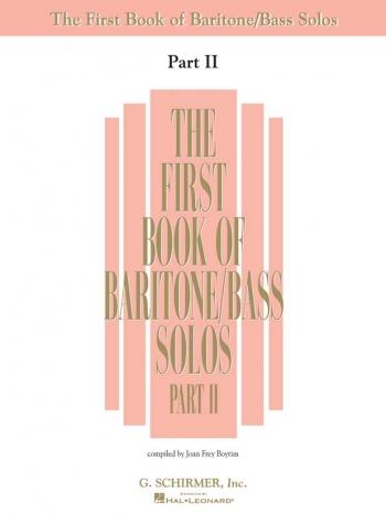 The First Book Of Baritone/Bass Solos Vol 2: Vocal: Album