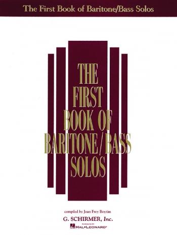 The First Book Of Baritone/Bass Solos Vol 1: Vocal: Album