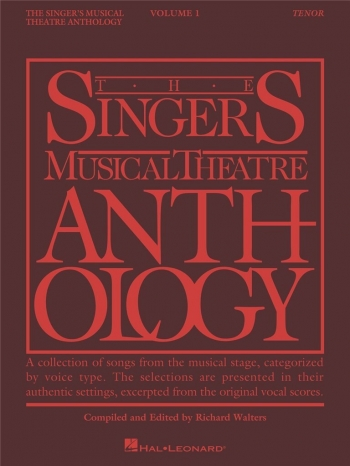 Singers Musical Theatre Anthology: Vol 1: Tenor: Vocal