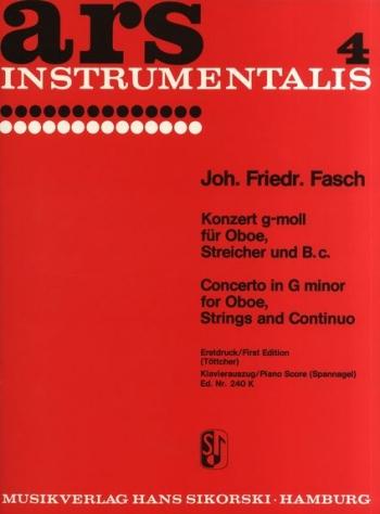 Concerto G Minor: Oboe & Piano
