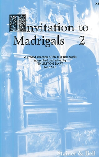 Invitation To Madrigals Book 2: Vocal - Satb