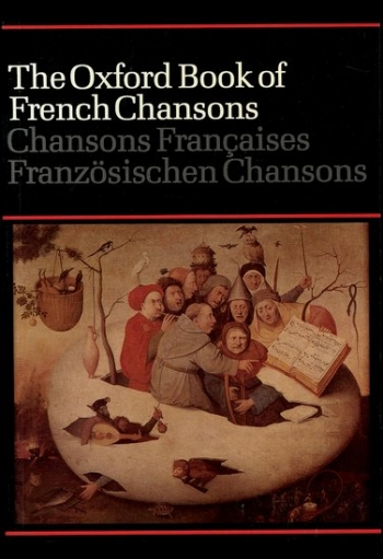 Oxford Book Of French Chansons: Vocal: Satb