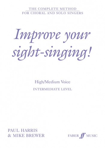 Improve Your Sight-singing High Medium: Intermediate