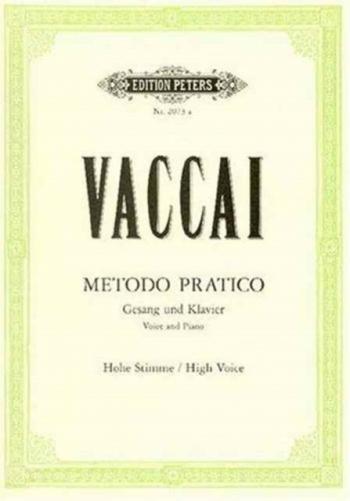 Metodo Pratico: High Voice (Peters)