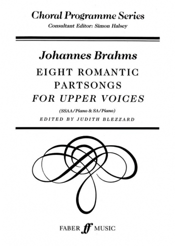 Eight Romantic Partsongs For Upper Voices Vocal Ssaa