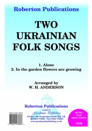 2 Ukranian Folk Songs: Vocal Solo