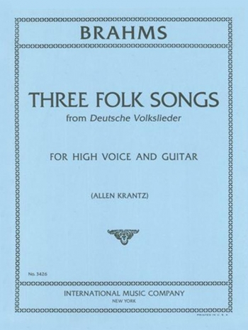 Folk Songs: Vol 3: Voice