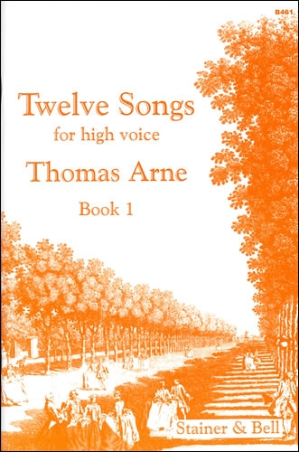 12 Songs For High Voice Book 1: Vocal (Stainer & Bell)