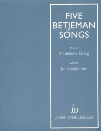 5 Betjeman Songs: Vocal