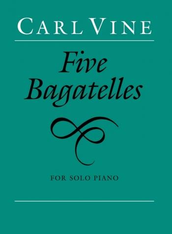 Five Bagatelles: Piano (Faber)