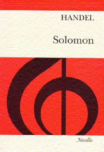 Solomon: Vocal Score