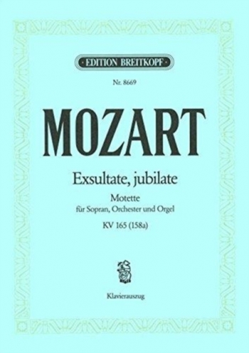 Missa Brevis In D: Vocal: Satb (Breitkopf)