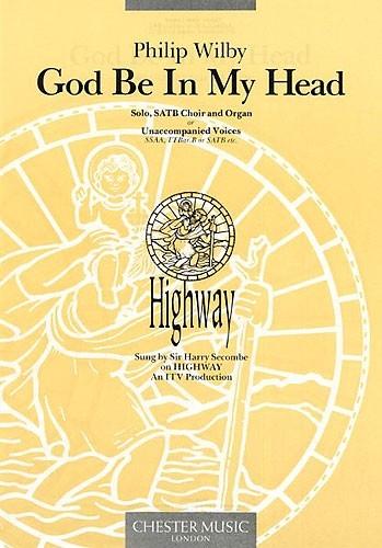 God Be In My Head: E Maj: Vocal: Solo and Satb
