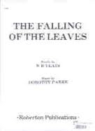 Falling Of The Leaves The: A Maj: Vocal: Solo Song