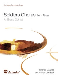 Soldiers Chorus from Faust: brass Quintet