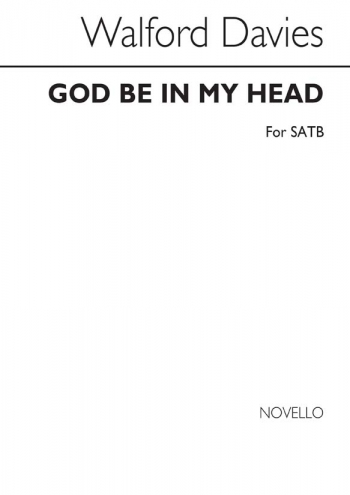 God Be In My Head: Vocal Solo