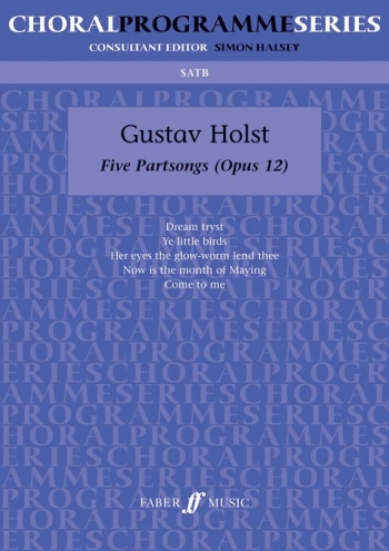Five Partsongs: Vocal: Satb