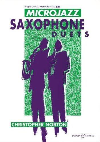 Microjazz Saxophone Duets: 2 Saxophone