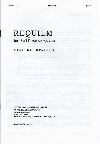 Requiem Vocal Score (Novello)
