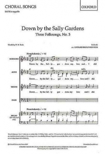 Down By The Sally Gardens Vocal SATB (Higginbottom)