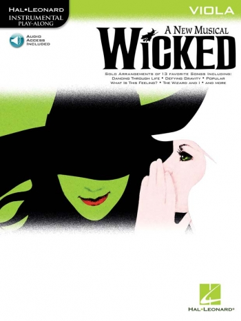 Instrumental Play-along: Wicked: Viola: Bk&Cd