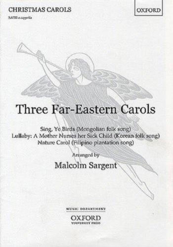 Three Far Eastern Carols - Vocal - Satb unaccompanied