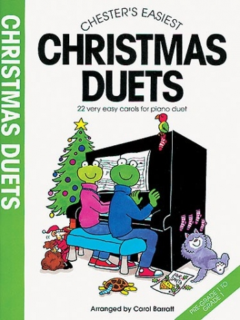 Chesters Easiest Christmas Duets: Piano Duet