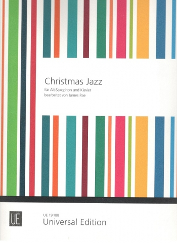 Christmas Jazz For Alto Saxophone