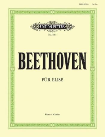 Fur Elise: Piano  (Peters)