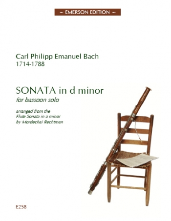 Sonata In D Minor: Bassoon & Piano (Emerson)