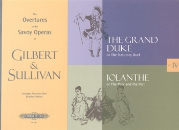 Overtures To The Savoy Operas: Book 4