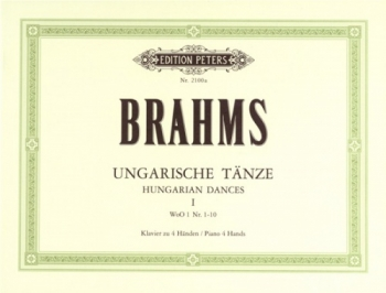 Hungarian Dances; Ungarische Tanze: 1: Piano Duet