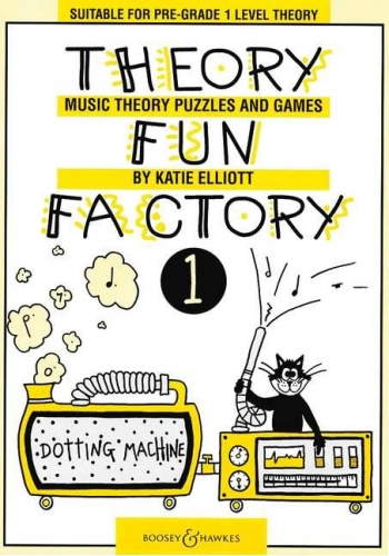 Theory Fun Factory Vol.1 Pre Grade 1: Theory Workbook (elliott)