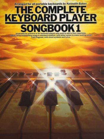 Complete Keyboard Player: Book 1: Songbook