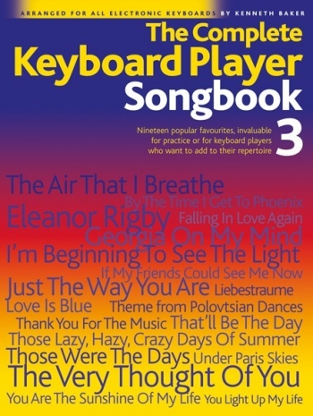 Complete Keyboard Player: Book 3: Songbook