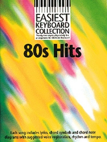 Easiest Keyboard Collection 80s Hits