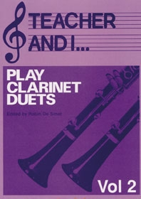 Teacher And I Play Clarinet Duets: Vol.2
