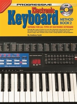 Progressive Keyboard Method Book 2 A4: Book & CD