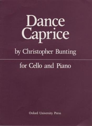 Dance Caprice: Cello & Piano (Oxford)