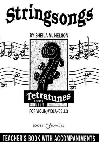 Stringsongs: Violin Viola Cello: Piano Accompaniment  (nelson)