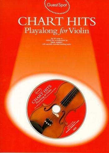Guest Spot: Chart Hits: Violin: Book & CD
